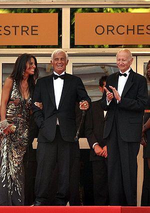 Jean-Paul Belmondo - Image: Belmondo hommage Cannes 2011