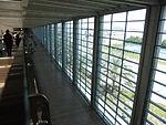 Ben Gurion International Airport השדרה מבט מהאמצע.JPG