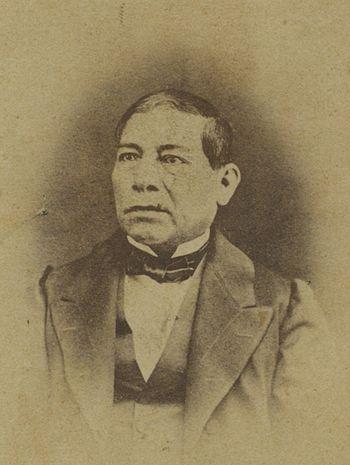 Benito juarez circa 1868
