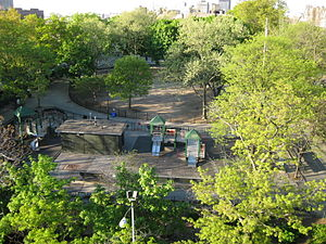 Fort Washington (Manhattan) - The site of Fort Washington in Bennett Park as it appeared 2011