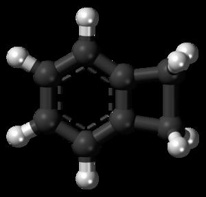 Benzocyclobutene - Image: Benzocyclobutene 3D balls