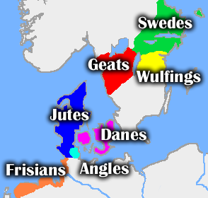 Beowulf geography names