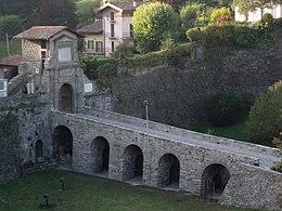 Porta san lorenzo bergamo wikipedia - Treno milano porta garibaldi bergamo ...