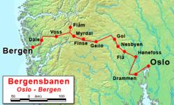 kart bergensbanen Bergensbanen – Wikipedia kart bergensbanen