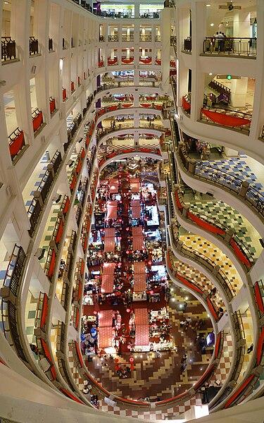 File:Berjaya Times Square atrium.jpg