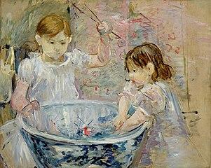 Enfants à la vasque