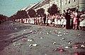 Beszterce, Fa utca (strada Liviu Rebreanu), 1940. szeptember 8. Fortepan 3954.jpg