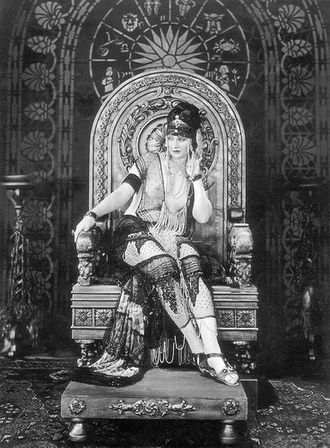 The Queen of Sheba (1921 film) - Betty Blythe as the Queen of Sheba