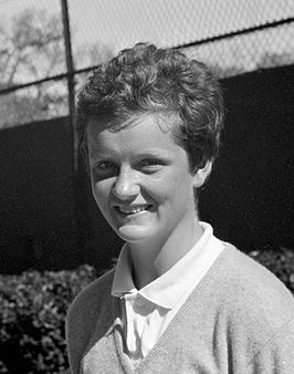 Betty Stöve in 1962