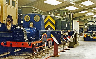 Shropshire and Montgomeryshire Railway - Image: Beverley Museum of Army Transport Gazelle geograph 3283289 by Ben Brooksbank
