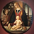 Biagio d'antonio, madonna col bambino e un angelo.JPG