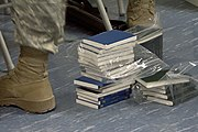 Bibles sent to Bagram for proselytizing