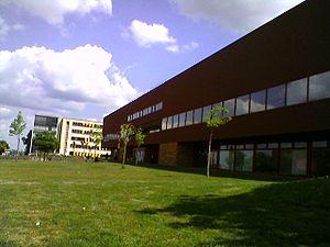 University of Maine (France) - Image: Bibliothèque universitaire Le mans