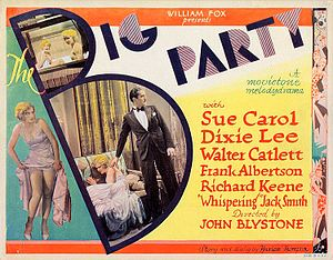 The Big Party - Lobby card