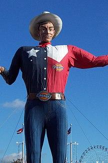 Texas-Feste-Big Tex