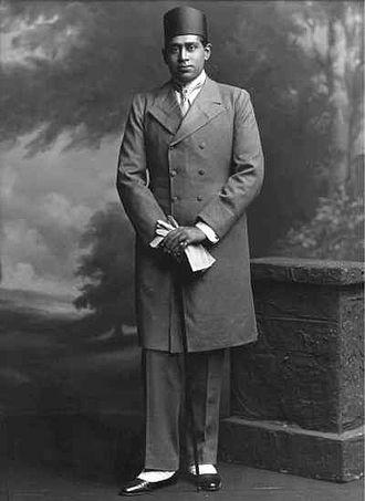 Bijay Chand Mahtab - Mahtab in 1906.