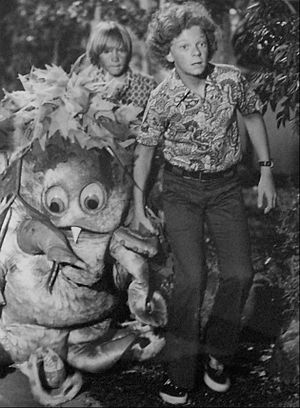 Johnny Whitaker - Whitaker and Scott Kolden on Sigmund & the Sea Monsters, 1973