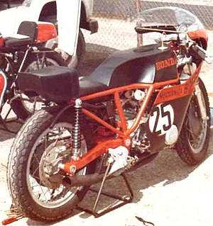 Bimota - Bimota Honda HB1 at Imola racetrack in 1973