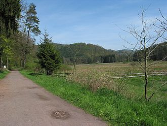 Palatinate Forest-North Vosges Biosphere Reserve - Image: Biosphären Erlebnisweg