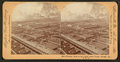 Birdseye view of the Union Stock Yards (stockyards), Chicago, Ill., U.S.A, from Robert N. Dennis collection of stereoscopic views 2.png