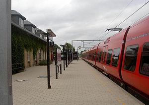 Birkerød station - Image: Birkerød Station