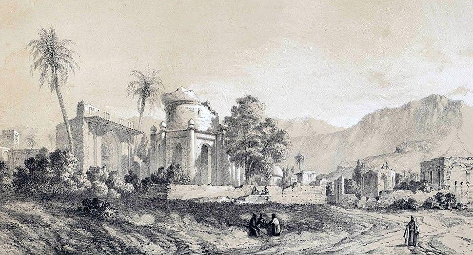 Bishapur by Eugène Flandin