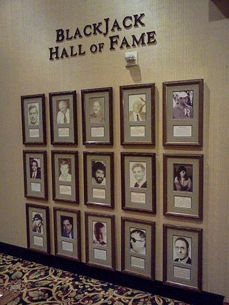 Blackjack Hall of Fame - The Blackjack Hall of Fame at the Barona Casino