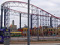 Blackpool roller coaster, 15 October 2005.jpg