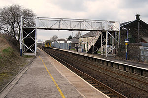 Blackrod railway station - Image: Blackrod Station Platform