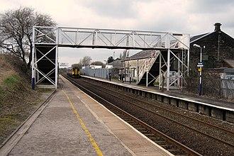Blackrod railway station - Image: Blackrod Station Platform