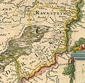 Blaeu 1645 - Brabantia Ducatus Ausschnitt Cuyk.jpg