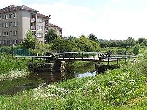 Blairdardie - Blairdardie bascule bridge over the Forth and Clyde canal