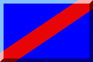 1989–90 Országos Bajnokság I (men's water polo) - Image: Blu e Rosso (Diagonale)