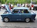Blue tuned Trabant 601 at the Szocialista Jáműipar Gyöngyszemei 2008.jpg