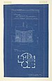 Blueprint, Villa of M. Hemsy, St. Cloud, Face Posterieure, 1913 (CH 18384921-2).jpg