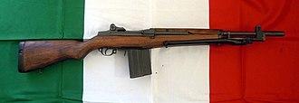 Beretta BM 59 - The BM 59 battle rifle