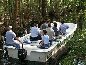 Okefenokee Swamp Park - Boat tours aboard Carolina Skiff boats