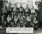 Bob Hoover with North American test pilots.jpg