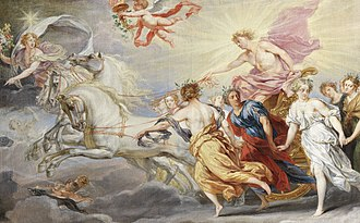 The Phoebus Foundation - Phoebus Apollo by Jan Boeckhorst, from the collection of the Phoebus Foundation