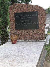 Boleslaw Gebert monument.JPG