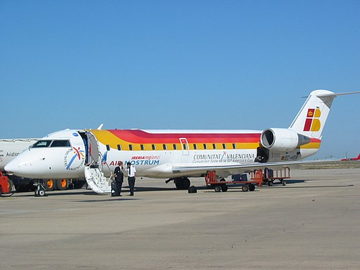 Bombardier CRJ-200ER Air Nostrum VLL