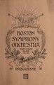 Boston Symphony Orchestra Programme Twenty-Fifth Season 1905-1906 (IA bostonsymphonyor00unse).pdf