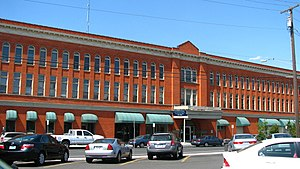 National Register of Historic Places listings in Umatilla County, Oregon - Image: Bowman Hotel Pendleton Oregon