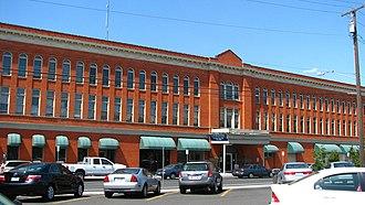 National Register of Historic Places listings in Umatilla County, Oregon - Image: Bowman Hotel Pendleton Oregon