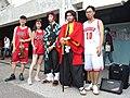 Boy, Lily Cao, Dabao Lin and Demon Slayer cosplayers 20200704b.jpg