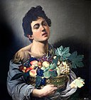 Boy with a Basket of Fruit by Caravaggio.jpg