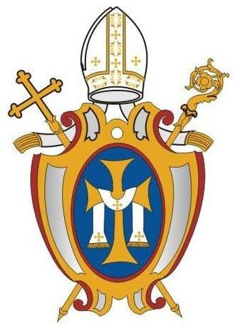 Personal Apostolic Administration of Saint John Mary Vianney - The coat of arms of the Personal Apostolic Administration of Saint John Mary Vianney