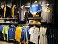 Brazil football gear, Niketown SF.JPG