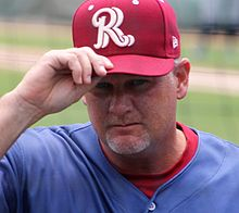Brian Shouse Frisco RoughRiders coach May 2016.jpg