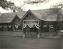 The Tudor Revival Briarcliff Manor station